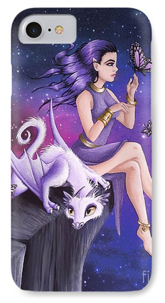 Violet Night Fantasy IPhone Case