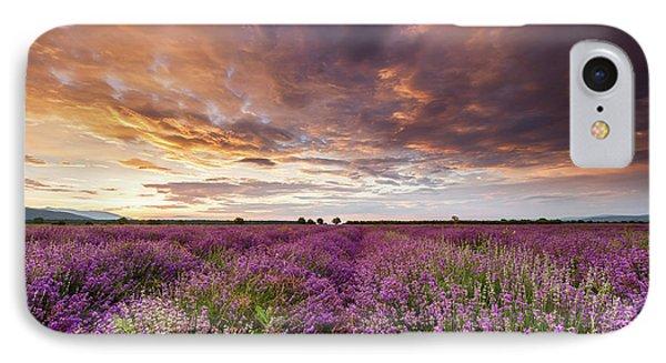 Violet Sunrise Phone Case by Evgeni Dinev
