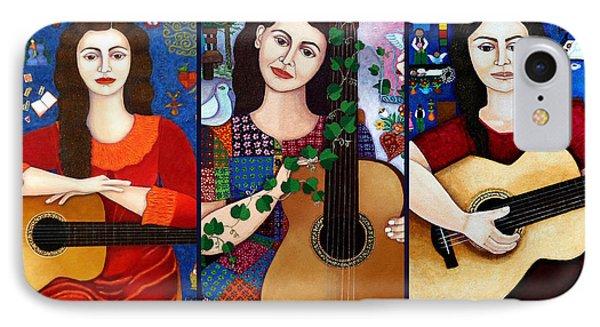 Violeta Parra Collage  IPhone Case by Madalena Lobao-Tello
