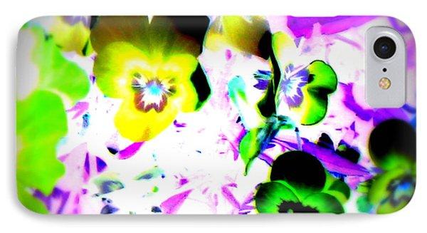 Violets Phone Case by Pauli Hyvonen