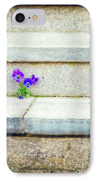 IPhone Case featuring the photograph Violets    by Silvia Ganora