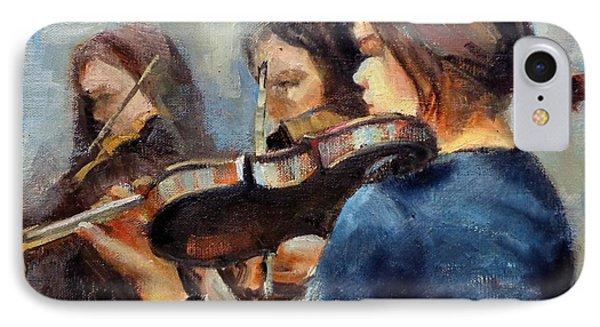 Violin Practice IPhone Case