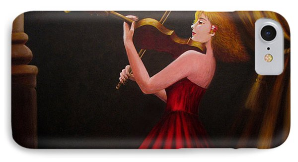 Violinist  Phone Case by Anh T Chau