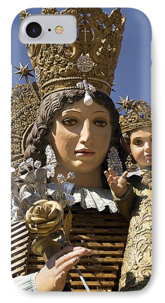 Virgen De Los Desamparados IPhone Case by For Ninety One Days