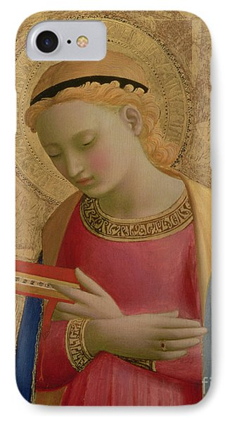 Virgin Annunciate IPhone Case by Fra Angelico
