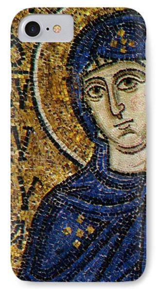 Virgin Mary IPhone Case by Byzantine School