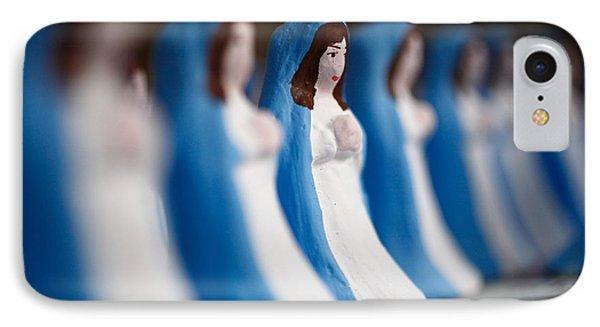 Virgin Mary Phone Case by Gaspar Avila