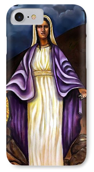 Virgin Mary- The Protector Phone Case by Carmen Cordova