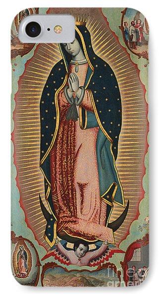 Virgin Of Guadalupe IPhone Case by Nicolas Enriquez