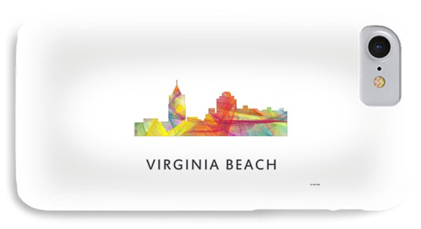 Virginia Beach  Virginia Skyline IPhone Case