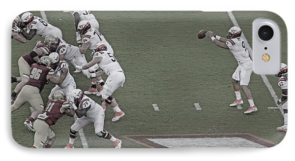 Virginia Tech Lane Stadium 2016 IPhone Case by Betsy Knapp