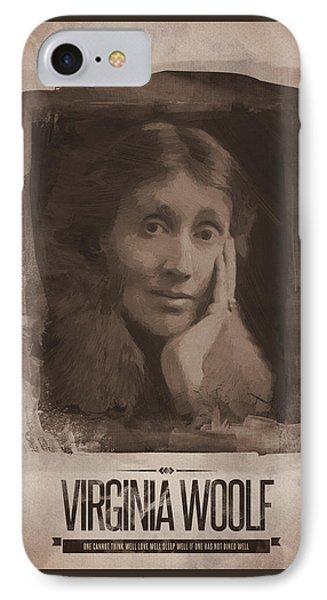 Virginia Woolf IPhone Case by Afterdarkness