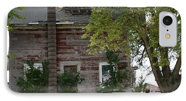 Vision Of Abandon Country Home II IPhone Case by Kathy M Krause