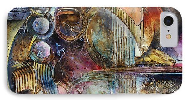 'visions Of Eight' Phone Case by Michael Lang
