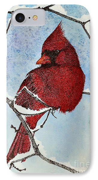 IPhone Case featuring the painting Visiting Spirit by Suzette Kallen
