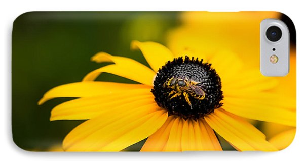 Visitor In The Garden IPhone Case by Shelby  Young
