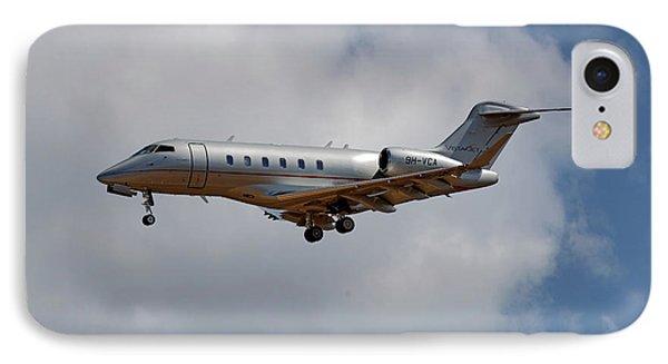 Jet iPhone 7 Case - Vista Jet Bombardier Challenger 300 5 by Smart Aviation