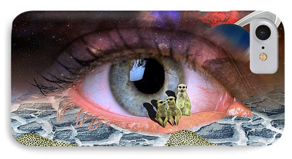 Visual Acuity IPhone Case by Solomon Barroa