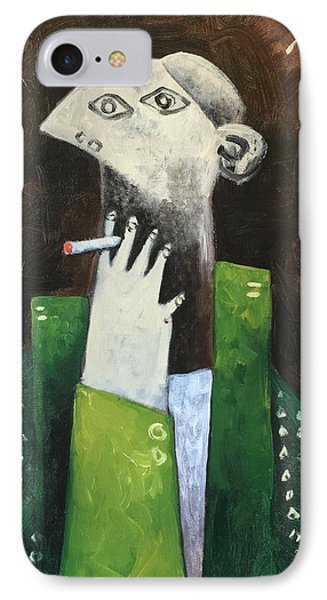 Vitae The Smoker IPhone Case by Mark M Mellon