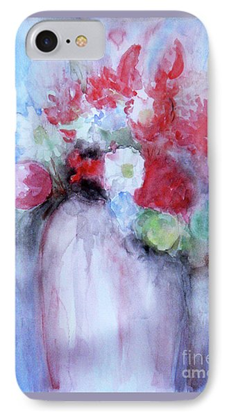 IPhone Case featuring the painting Vitality Still Life by Jasna Dragun