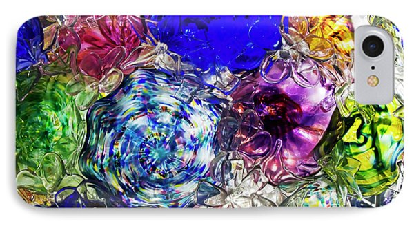 Vitreous Flora IPhone Case by Gary Holmes