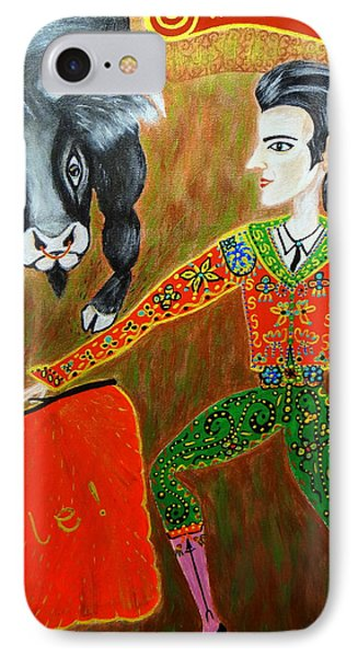 Viva Don Toreadore Phone Case by Marie Schwarzer
