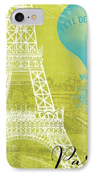 Viva La Paris IPhone Case by Mindy Sommers