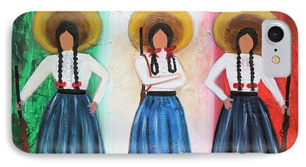 Viva Mexico Phone Case by Sonia Flores Ruiz