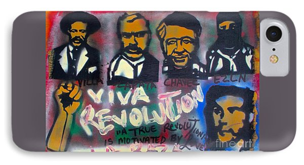 Viva Revolution IPhone Case by Tony B Conscious