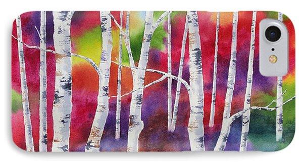 Vivid Autumn Phone Case by Deborah Ronglien