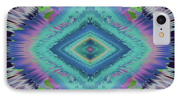 Exponential Flare 2 IPhone Case by Colleen Taylor