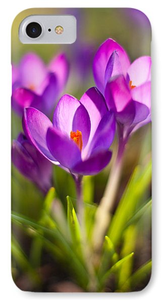 Vivid Petals Phone Case by Mike Reid
