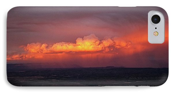 IPhone Case featuring the photograph Vivid Verde Valley Sunset by Ron Chilston