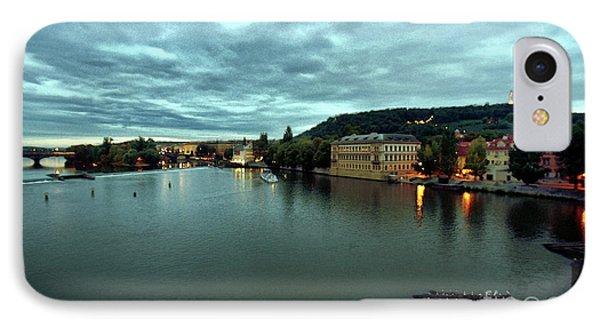 Vltava View 2 IPhone Case by Madeline Ellis