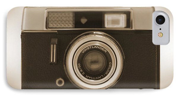 Voigtlander Rangefinder Camera Phone Case by Mike McGlothlen