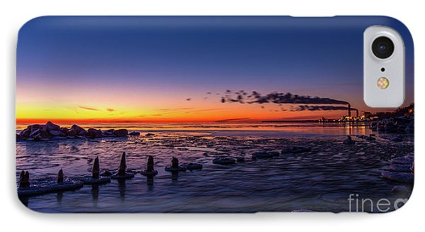 Voilet Morning IPhone Case by Andrew Slater