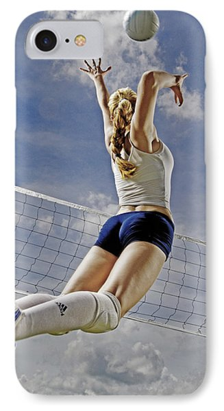 Volleyball Phone Case by Steve Williams