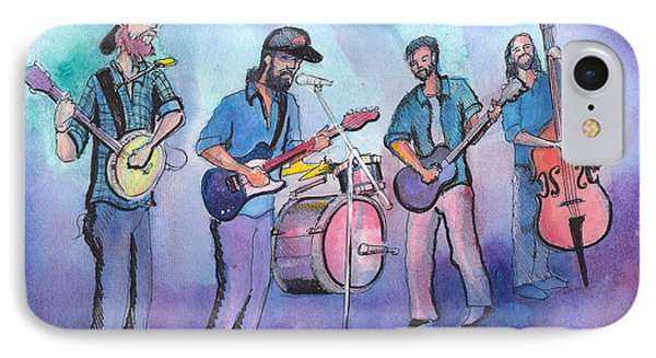 IPhone Case featuring the painting Von Stomper by David Sockrider