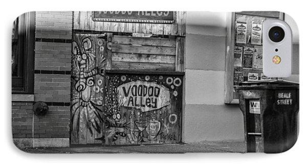 Voodoo Alley IPhone Case by CJ Schmit