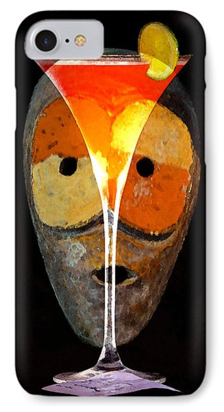 IPhone Case featuring the painting Voodoo Martini by David Lee Thompson
