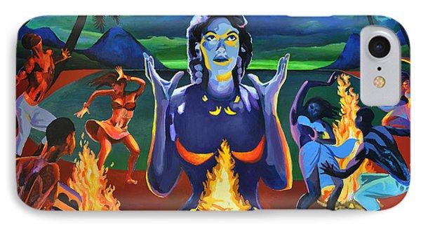 Voodoo Woman Phone Case by Geoff Greene