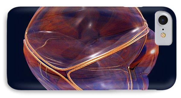 Voronoi Fractures IPhone Case by Harry Nicholas