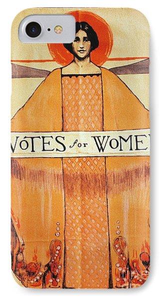 Votes For Women, 1911 Phone Case by Granger