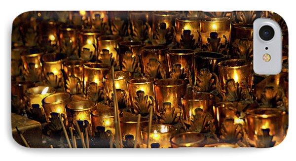 Votive Candles Phone Case by John Greim