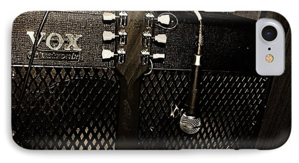 Vox Amp Phone Case by Chris Berry
