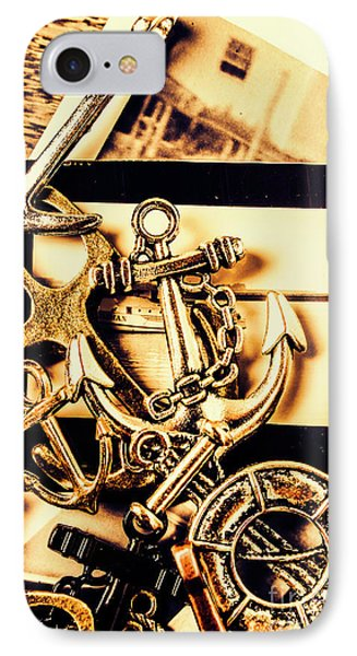 Voyage In Historical Boating IPhone Case by Jorgo Photography - Wall Art Gallery