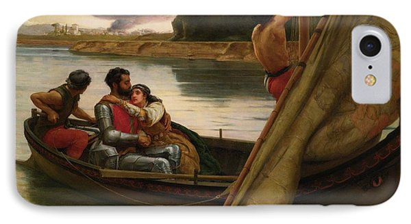 Voyage Of King Arthur And Morgan IPhone Case