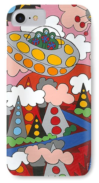 Voyager IPhone Case by Rojax Art