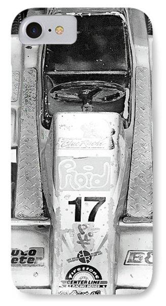 IPhone Case featuring the mixed media Vroom by Tony Rubino