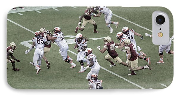 Vt Boston Lane Stadium 2016 1 IPhone Case by Betsy Knapp